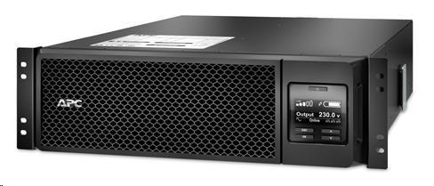 APC Smart-UPS SRT 5000VA RM 230V, On-Line, 3U, Rack Mount (4500W) (SRT5KRMXLI)
