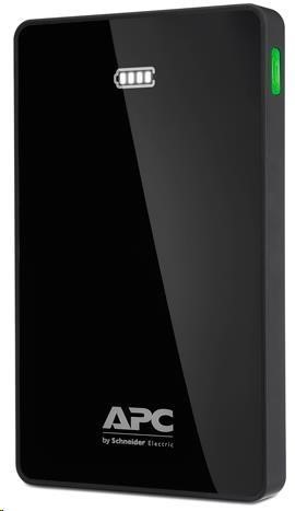 APC Mobile Power Pack, 5000mAh Li-polymer, Black ( EMEA/CIS/MEA) (Power Bank) (M5BK-EC)