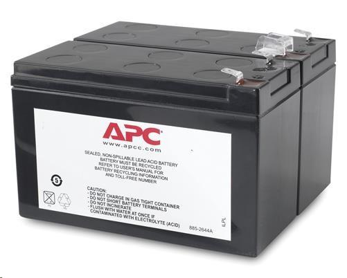 APC Replacement Battery Cartridge #113, BX1400UI, BX1400U-FR (APCRBC113)
