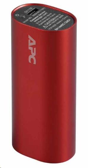 APC Mobile Power Pack, 3000mAh Li-ion cylinder, Red ( EMEA/CIS/MEA) (Power Bank) (M3RD-EC)