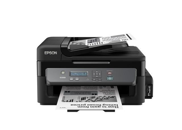 EPSON tiskárna ink WorkForce M200 MFZ, CIS, A4, 34ppm, ČB 1ink, USB, NET, ADF, ITS, MULTIFUNKCE- po registraci 3 roky zá (C11CC83301)