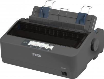 EPSON tiskárna jehličková LX-350, A4, 9 jehel, 347 zn/s, 1+4 kopii, USB 2.0, LPT, RS232 (C11CC24031)