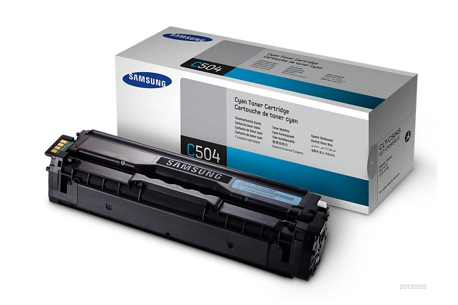 Samsung CLT-C504S Cyan Toner Cartridg (SU025A)