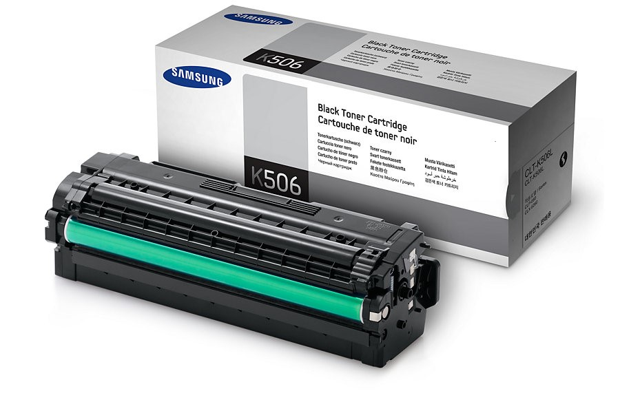 Samsung CLT-K506L High Yield Black Toner Cartridge (SU171A)