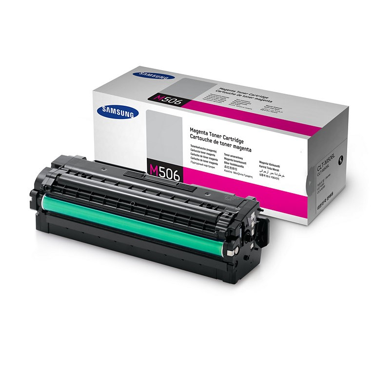Samsung CLT-M506L High Yield Magenta Toner Cartridge (SU305A)