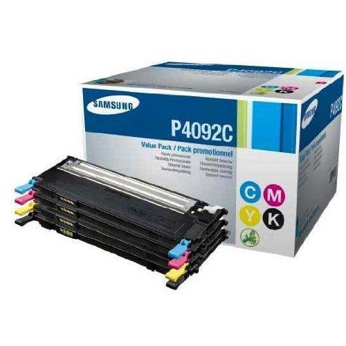 Samsung CLT-P4092C 4-pk CYMK Toner Cr (SU392A)