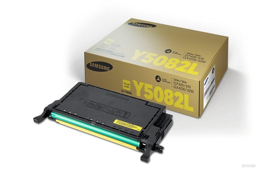 Samsung CLT-Y5082L H-Yld Yel Toner Cr (SU532A)