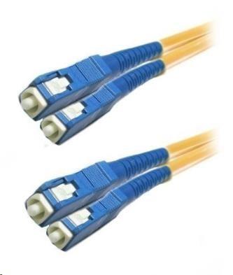 Duplexní kabel 9/125, SC-SC, 0,5m (DPX-09-SC/SC-05)
