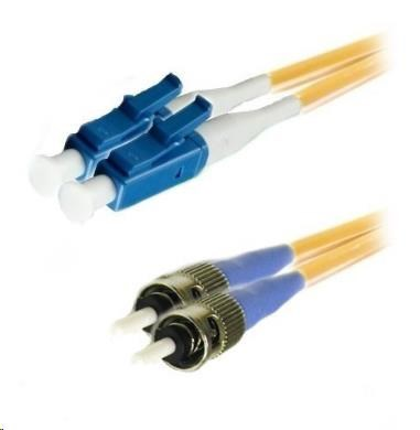 Duplexní kabel 9/125, LC-ST, 2m (DPX-09-LC/ST-2)