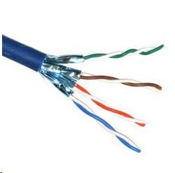 Schrack STP kabel Cat6A drát, LSOH, 500Mhz, stíněný každý pár, 500m cívka (KAB-SLD-STP6A-LS0H-500)