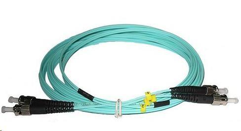 Duplexní kabel 50/125, OM3, ST-ST, 1m (DPX-50-ST/ST-OM3-1)