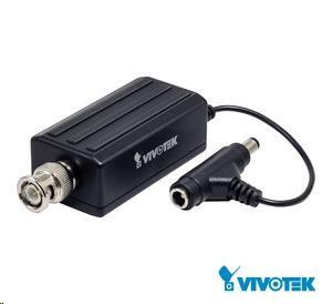 Vivotek videoserver VS8100, 1xBNC vstup max. 720x576 až 25sn/s, MJPEG, H.264 VS8100