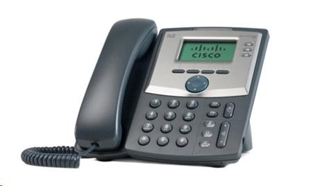 Cisco SPA303-G2, 3-line VoIP telefon, display, PC port