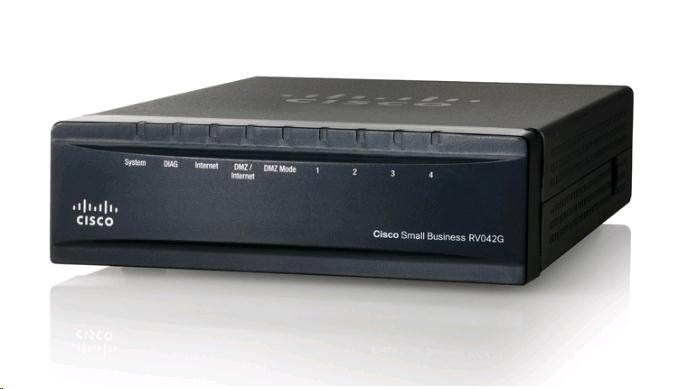 Cisco VPN Router RV042G, 4x GE LAN + 2xWAN (RV042G-K9-EU)