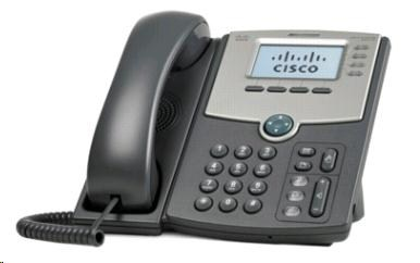 Cisco SPA514G, 4-line VoIP telefon, display, PoE, 2xGE port, SIP