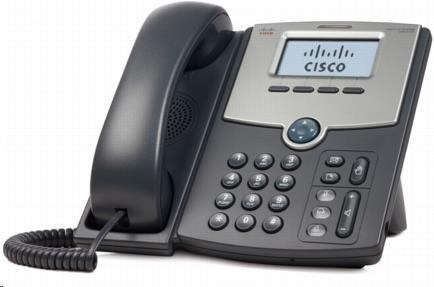 Cisco SPA512G, 1-line VoIP telefon, display, PoE, 2xGE port, SIP