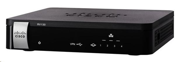 Cisco RV130 VPN firewall router, 4port, Gbit (RV130-K9-G5)