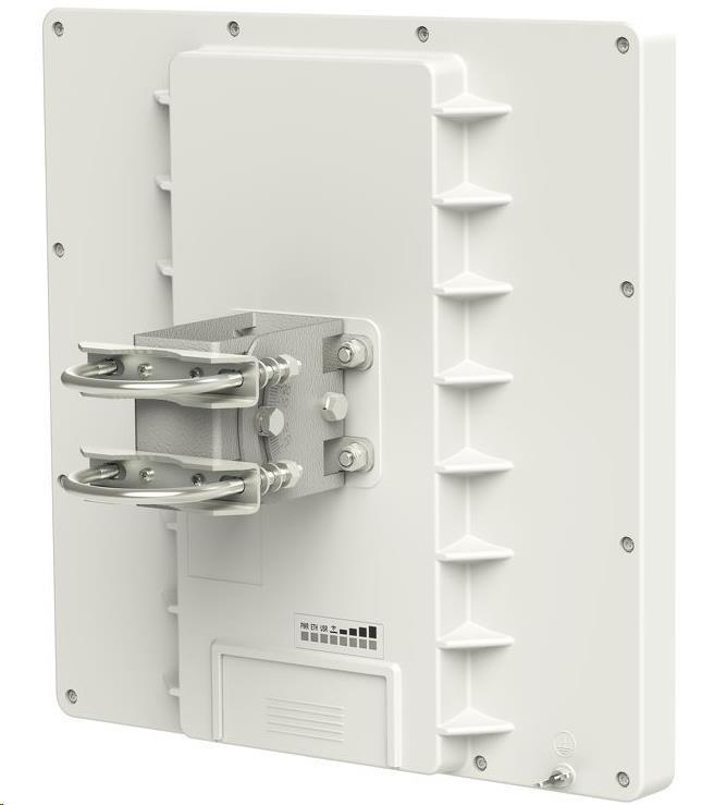 MikroTik RouterBOARD QRT 5, 600MHz CPU, 64MB RAM, 1x LAN, integr. 5GHz Wi-Fi, 17dBi 2x2MIMO, vč. L4 (RB911G-5HPnD-QRT)