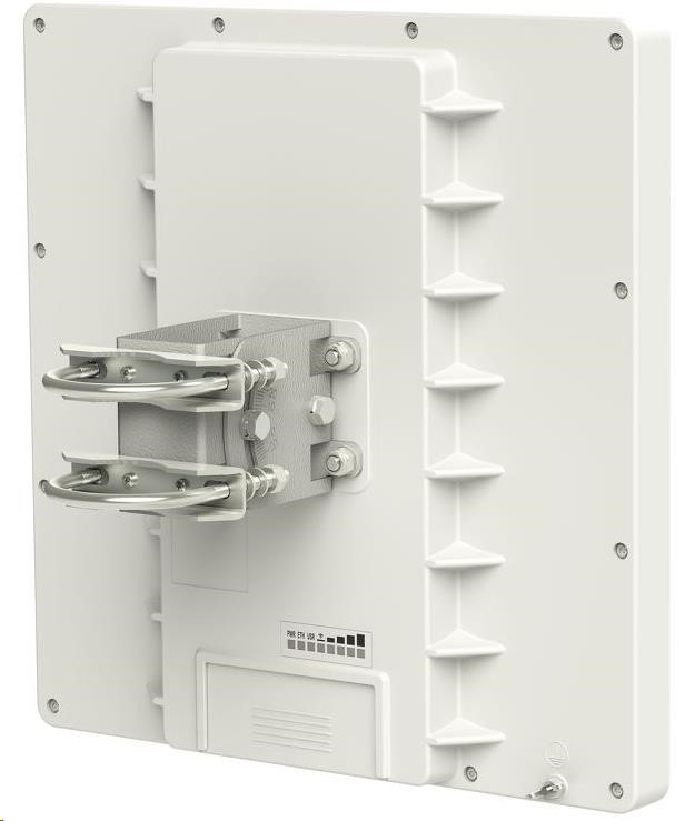 MikroTik RouterBOARD QRT 2, 600MHz CPU, 64MB RAM, 1x LAN, integr. 2.4GHz Wi-Fi, 23dBi 2x2MIMO, vč. L4 (RBQRTG-2SHPnD)