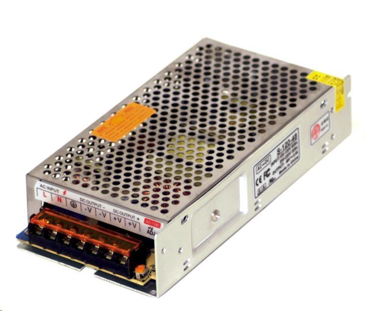 MikroTik průmyslový impulsní zdroj 48V, 2,5A, 120W (S-120-48)