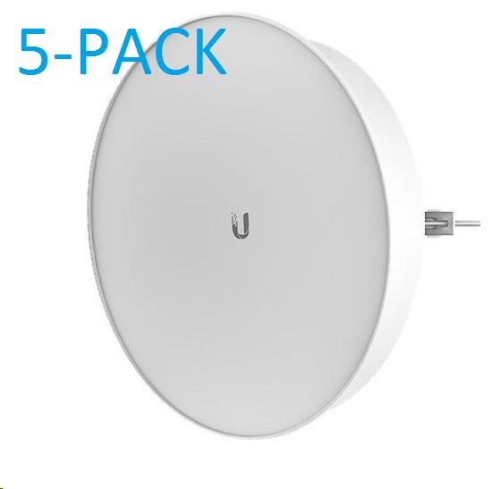 UBNT airMAX PowerBeam M5 ISO 2x25dBi, 5-PACK [400mm, Client/AP/Repeater, 5GHz, 802.11a/n, 10/100/1000 Ethernet] (PBE-M5-400-ISO / 5-PACK)