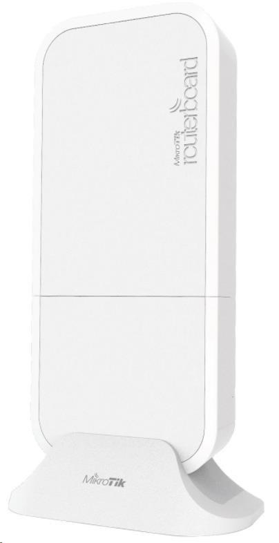 MikroTik RouterBOARD wAPR-2nD&R11e-LTE, white, 650MHz CPU, 64MB RAM, 1x LAN, 2.4GHz Wi-Fi, 2x2MIMO, 2dBi, LTE, vč. L4 (RBwAPR-2nD&R11e-LTE)