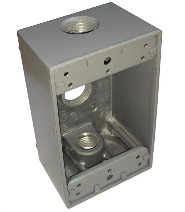 UBNT UniFi AP AC In Wall - Montážní krabice pro UAP-IW, kovová