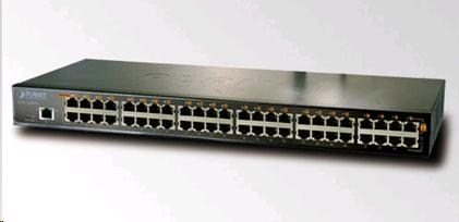Planet POE-2400G, PoE injektor IEEE 802.3af, 24xGE, PoE 380W (max.15,4W/port)