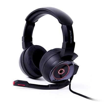 AVERMEDIA SonicWave 7.1 GH337 (Black), herní sluchátka s mikrofonem