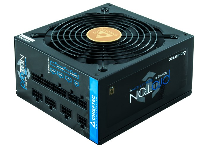 CHIEFTEC zdroj Proton, BDF-850C, 850W, 14cm fan, PFC, 80+ Bronze, Cable Management