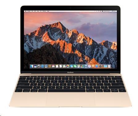 "APPLE MacBook 12"" M3 1.2GHz/8GB/256GB/Intel HD Graphics 615/Gold (mnyk2cz/a)"