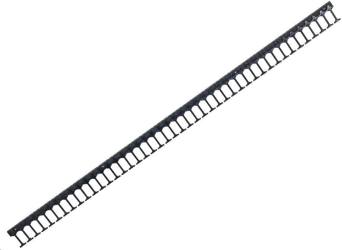 TRITON Vyvazovací panel 42U - Hřeben, jednořadý, RAL9005