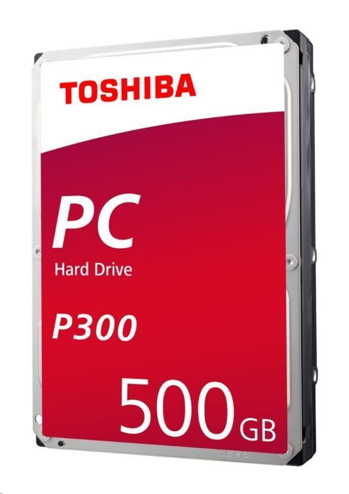 "TOSHIBA HDD P300 500GB, SATA III, 7200 rpm, 64MB cache, 3,5"" (HDWD105EZSTA)"
