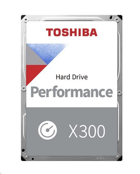 "TOSHIBA HDD X300 4TB, SATA III, 7200 rpm, 128MB cache, 3,5"" (HDWE140EZSTA)"