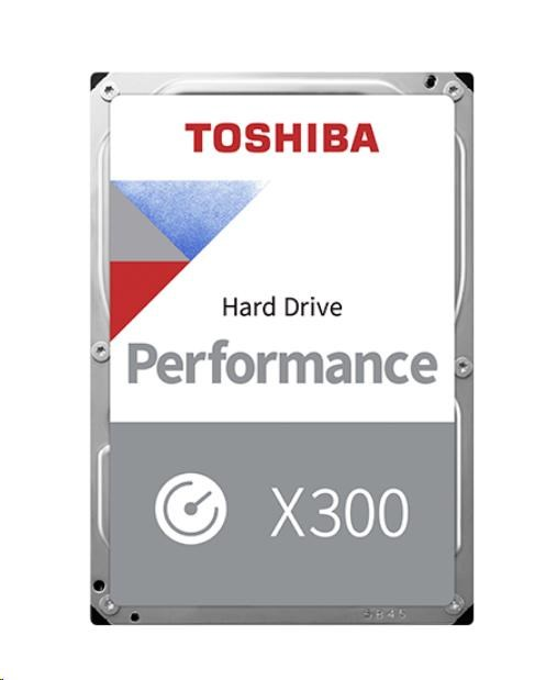 "TOSHIBA HDD X300 6TB, SATA III, 7200 rpm, 128MB cache, 3,5"" (HDWE160EZSTA)"