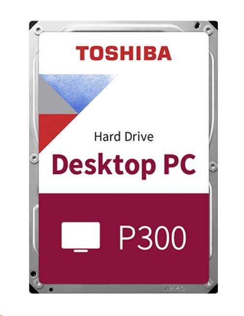 "TOSHIBA HDD P300 500GB, SATA III, 7200 rpm, 64MB cache, 3,5"", BULK (HDWD105UZSVA)"