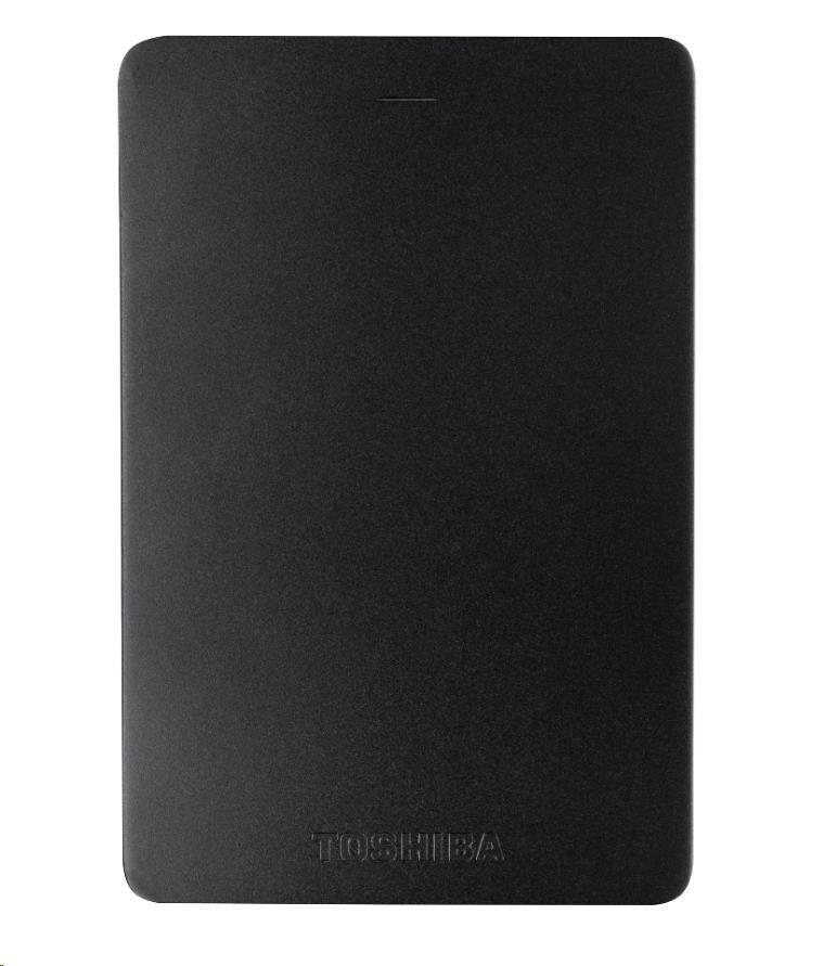 "TOSHIBA HDD CANVIO ALU 2TB, 2,5"", USB 3.0, černý"