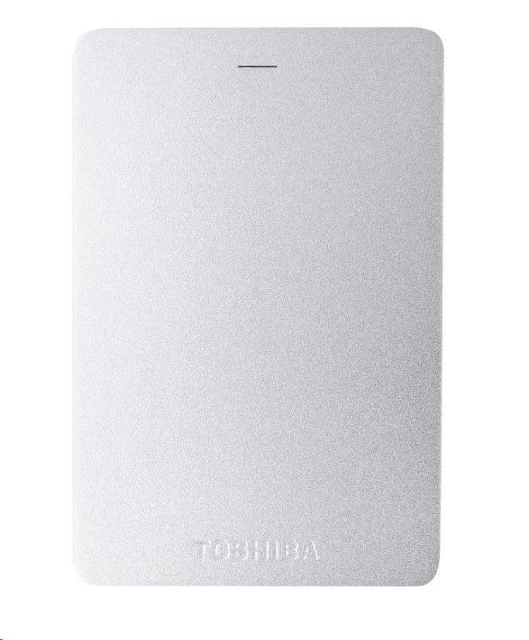 """TOSHIBA HDD CANVIO ALU 2TB, 2,5"""", USB 3.0, stříbrný"""