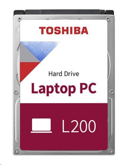 """TOSHIBA HDD L200 2TB, SMR, SATA III, 5400 rpm, 128MB cache, 2,5"""", 9,5mm, BULK"""