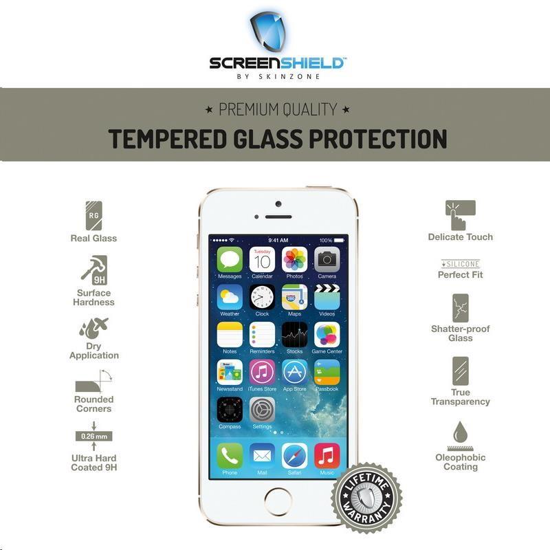 ScreenShield ochrana displeje Tempered Glass pro Apple iPhone 5/5S/5C (APP-TGIPH5S-D)