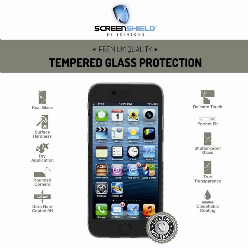 ScreenShield ochrana displeje Tempered Glass pro Apple iPhone 6 (APP-TGIPH6-D)
