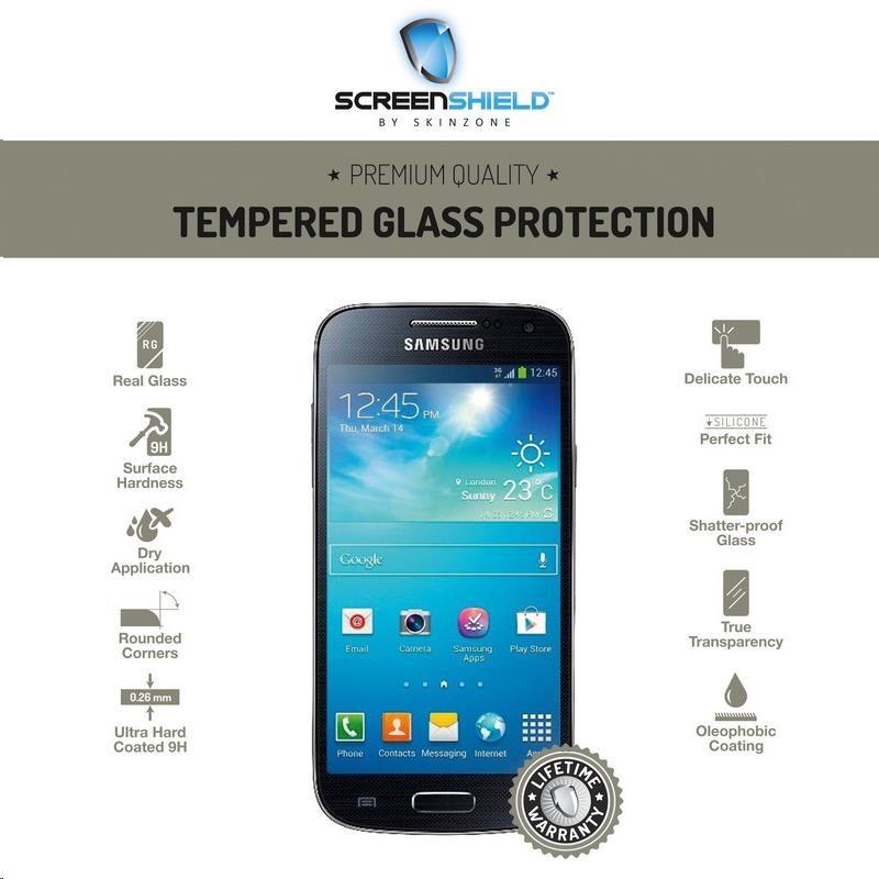 ScreenShield ochrana displeje Tempered Glass pro Samsung Galaxy S4 mini (i9195) (SAM-TGI9195-D)