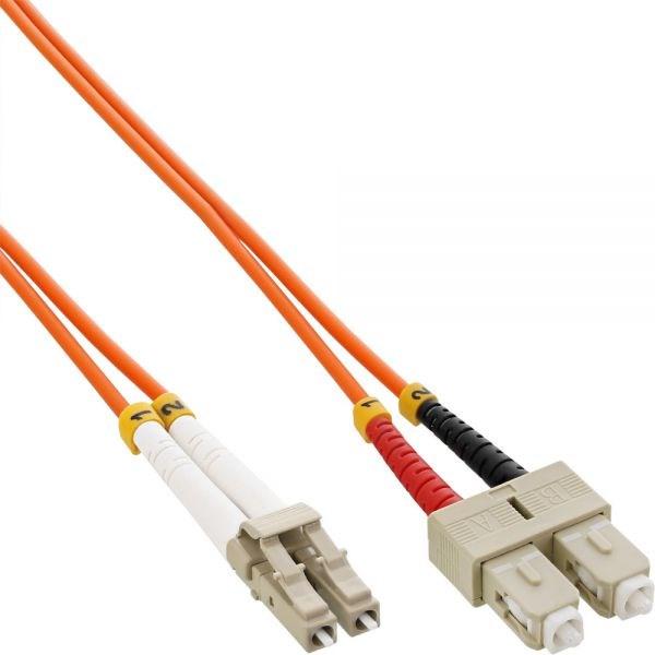 Duplexní kabel 62,5/125, LC-SC, 2m (DPX-62-LC/SC-2)
