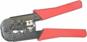 Kleště EKONOMY pro konektory RJ11, RJ12, RJ45 (LX-568)