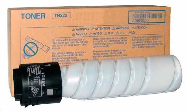 Minolta Toner TN-222 pro bizhub 266/306 (2x 12 000 str.) (A98R050)