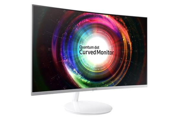 "Samsung MT LEDLCD monitor 32"" C32H711QEU Prohnutý - MVA, 2560x1440, 5ms, HDMI, USB, Quantum Dot, PIP, PIVOT, Swivel, HAS (LC32H711QEUXEN)"