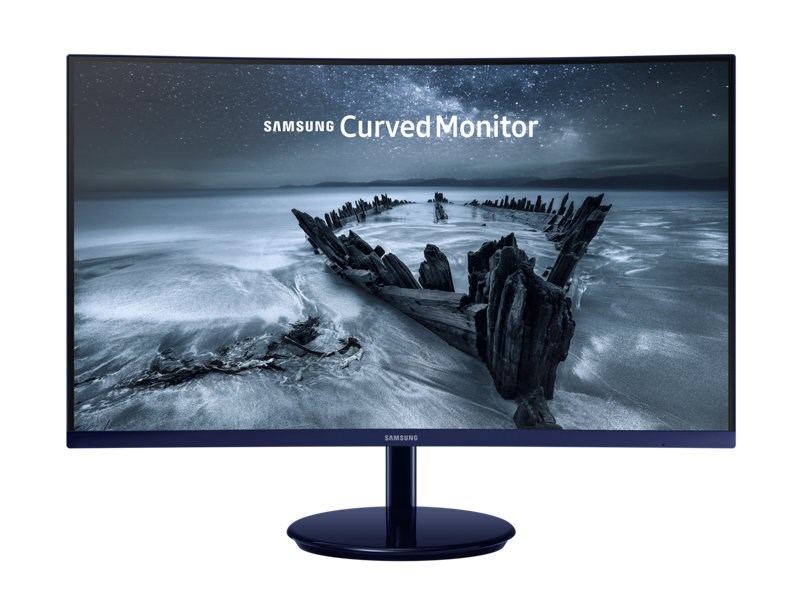 "SAMSUNG MT LED LCD 27"" LC27H580FDUXEN - VA panel, 1920x1080, 4ms, HDMI, display port, USB, prohnutý"