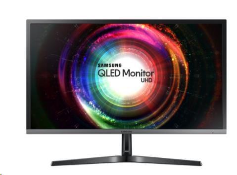 """Samsung MT LCD 28"""" U28H750 - UHD 2xHDMI, 1ms, Quantum Dot, 16:9 (LU28H750UQUXEN)"""