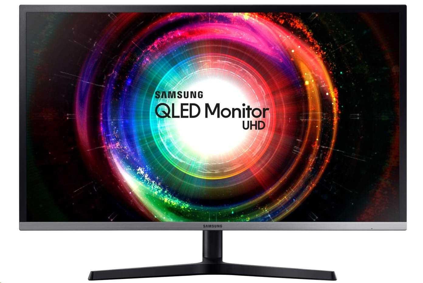 """Samsung MT LCD 32"""" U32H850 - UHD 2xHDMI, 4ms, USB Hub, Quantum Dot, 16:9 (LU32H850UMUXEN)"""