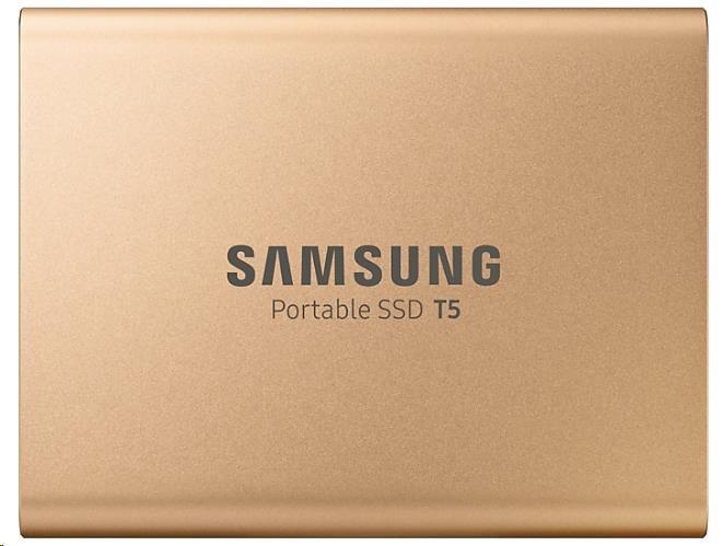 Samsung Externí SSD disk - 1 TB - zlatý